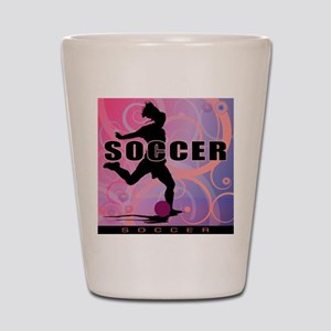 2011 Girls Soccer 2 Shot Glass