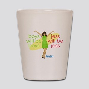 New Girl Jess will be Jess Shot Glass
