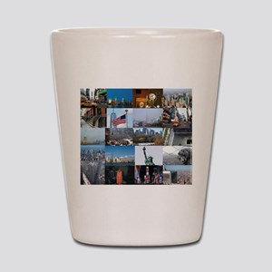 New York Pro Photo Montage-Stunning! Shot Glass