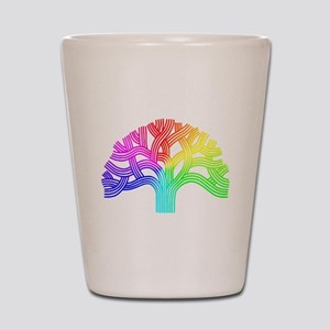 Oakland Tree Rainbow Shot Glass