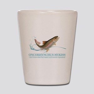 Rainbow Trout (OM) Shot Glass