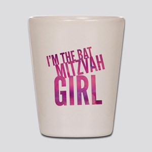 I'm the Bat Mitzvah Girl! Gift for Shot Glass