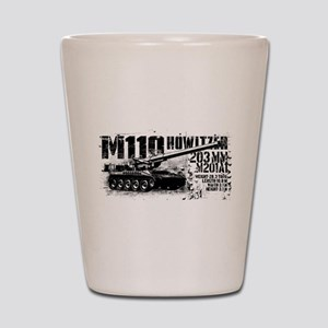 M110 howitzer Shot Glass