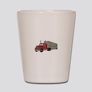 Semi Truck Shot Glass