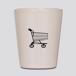 Shopping Cart Shot Glass