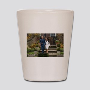 Prince Harry and Meghan Markle Royal We Shot Glass