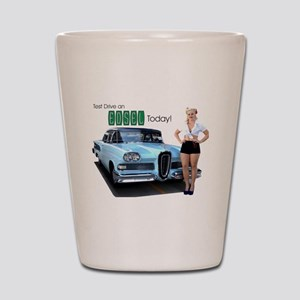 Test Drive an Edsel Today! Shot Glass