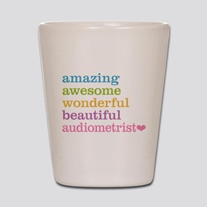 Amazing Audiometrist Shot Glass