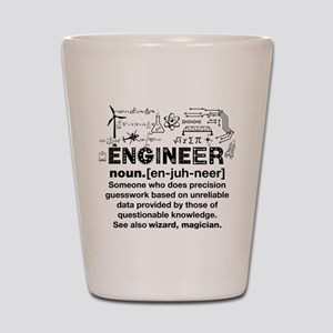 Gifts for Engineers Shot Glass