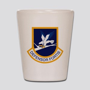 Air Force Security Forces crest Shot Glass