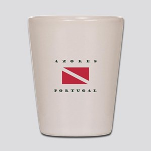 Azores Portugal Dive Shot Glass