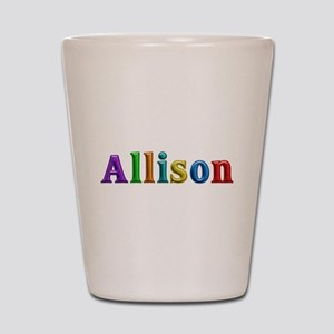 Allison Shiny Colors Shot Glass