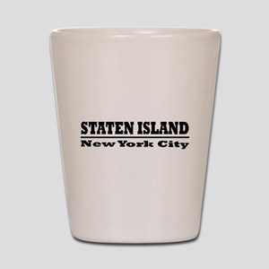 Staten Island Shot Glass