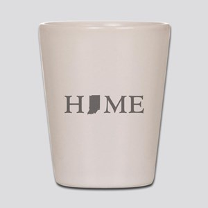 Indiana Home Shot Glass