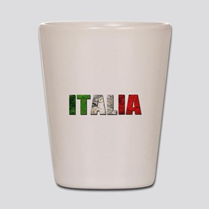 Italia Logo Shot Glass