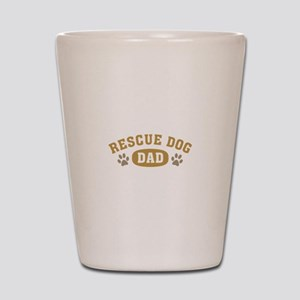 Rescue Dog Dad Shot Glass