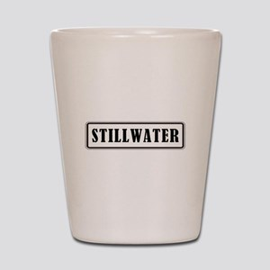 STILLWATER Shot Glass