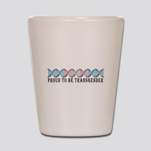 Transgender Pride DNA Shot Glass