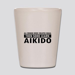 Aikido design Shot Glass