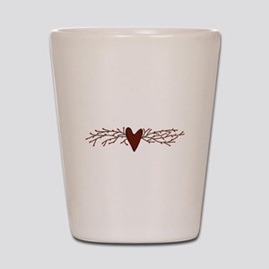 Pip Berry Heart Swag Shot Glass