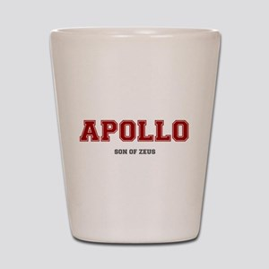APOLLO - SON OF ZEUS! Shot Glass