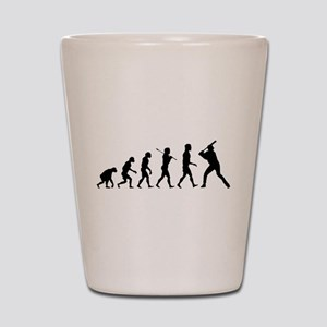 Baseball Evolution Shot Glass