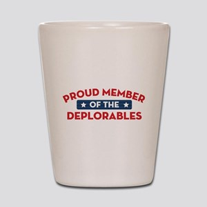 Proud Member of the Deplorables Shot Glass