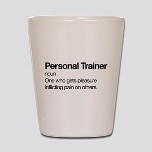 Personal Trainer Definition Shot Glass