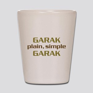 Plain Simple Garak Shot Glass