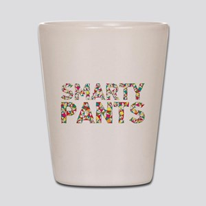 Smarty Pants Geometric Shot Glass