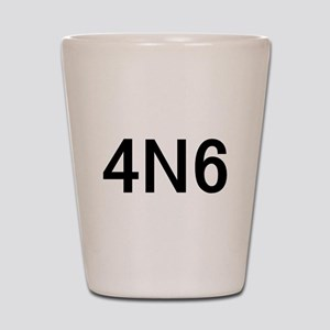 4N6 Shot Glass