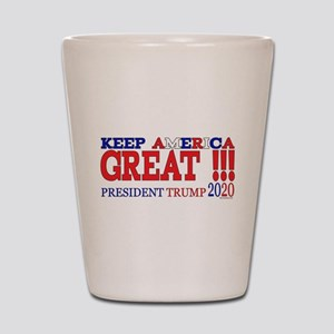 TRUMP | Keep America Great President TR Shot Glass