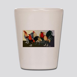 Rooster Dream Team Shot Glass
