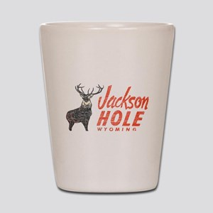 Vintage Jackson Hole Shot Glass