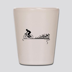 Nature Ride Cycling Shot Glass