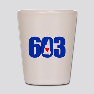 603 NEW HAMPSHIRE LOVE Shot Glass