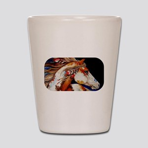 Spirit Horse Shot Glass
