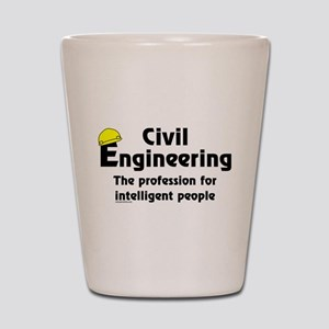 Smart Civil Engineer Shot Glass