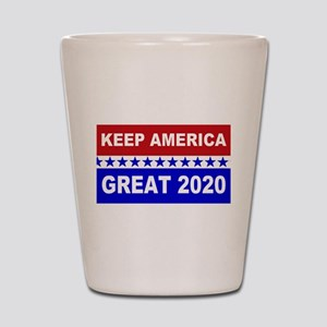 Keep America Great 2020 Shot Glass