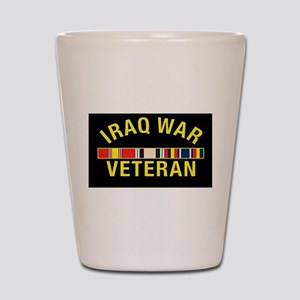 Iraq War Veteran Shot Glass