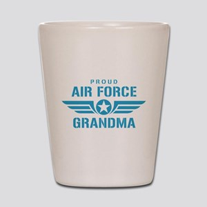 Proud Air Force Grandma W Shot Glass