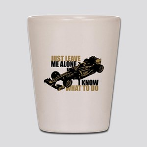 Kimi Raikkonen - Just Leave Me Alone Shot Glass
