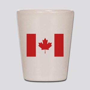 Flag of Canada Shot Glass