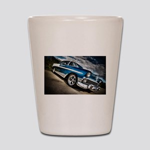 Retro car Shot Glass