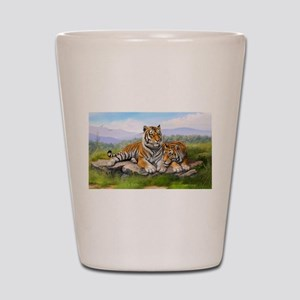 Tigers Shot Glass