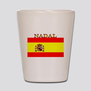 Nadal Spain Spanish Flag Shot Glass