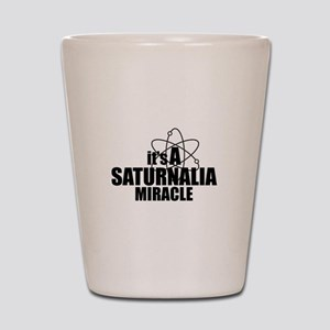 Saturnalia Miracle Shot Glass