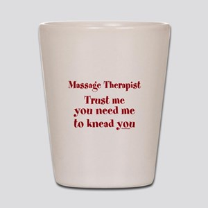 Massage Therapist ~ Gifts for any Occasion Shot Gl