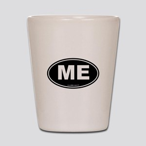 Maine ME Euro Oval Shot Glass