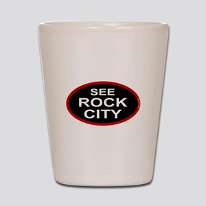 See Rock City Shot Glass